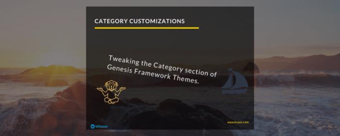 category customization