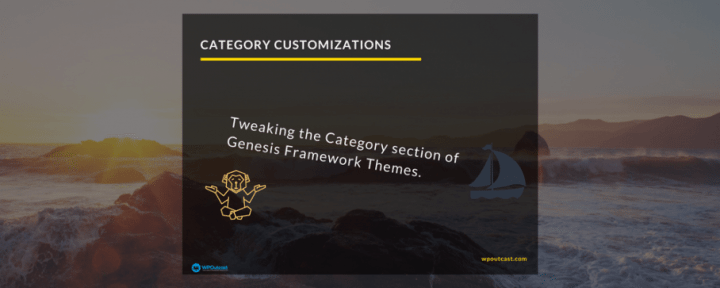 Simple Category Customizations For StudioPress Sites Themes