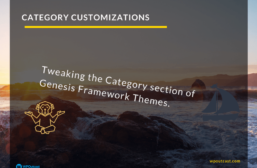 Simple Category Customizations For StudioPress Themes
