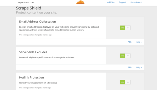 cloudflare shield