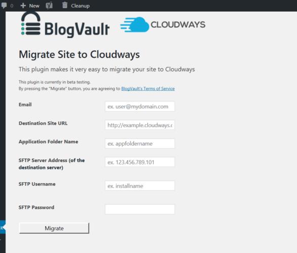 cloudways migrator tool