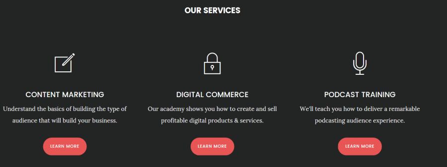 digital pro homepage
