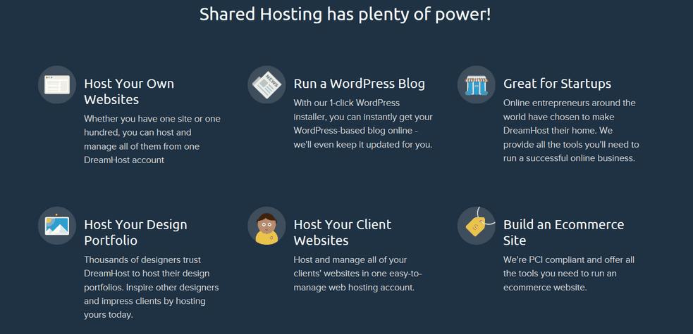 dream host feature