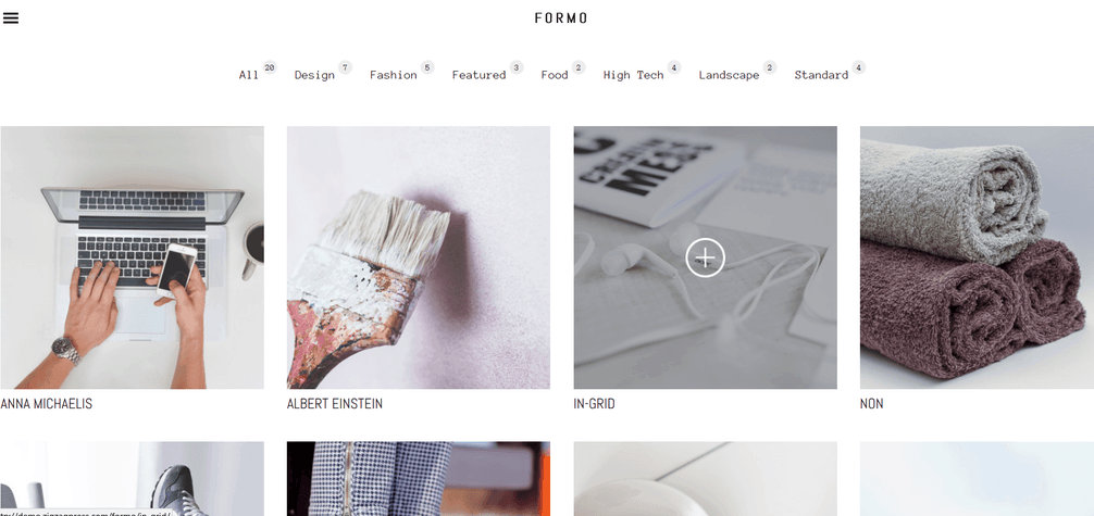 formo homepage