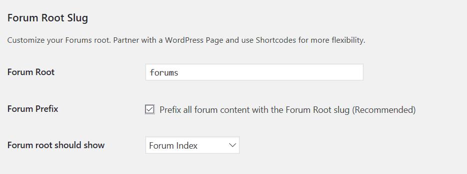 forum root
