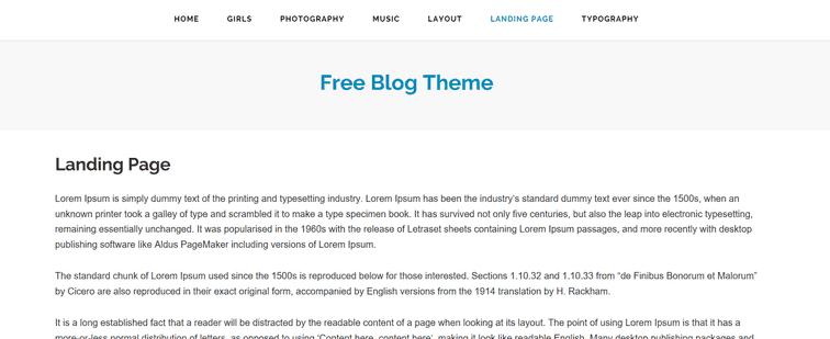 freeze theme example