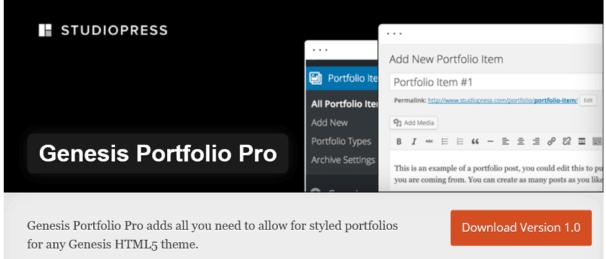 genesis-portfolio-pro