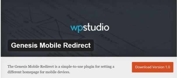 genesis mobile redirect