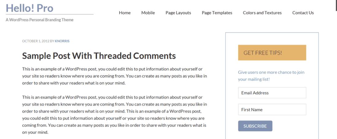 hello pro blog