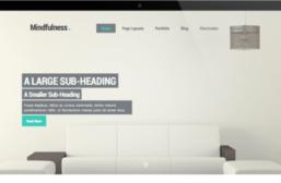 Mindfulness – 3rd Party Genesis Framework Theme