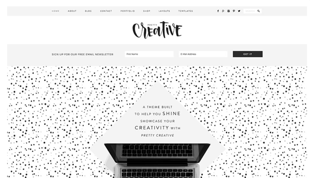 Pretty Creative – 3rd Party Genesis Framework Theme