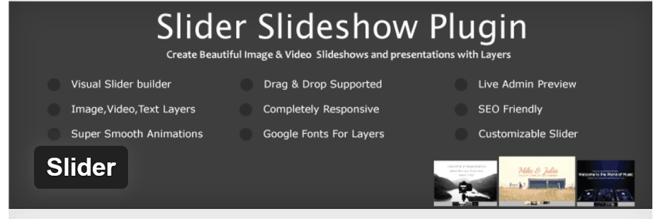 slider slideshow