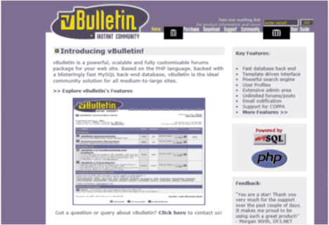vbulletin Old School