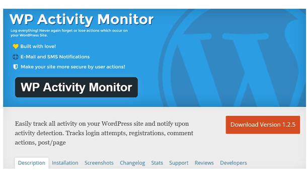 wpactivity monitor