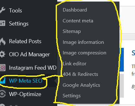 wp meta dashboard
